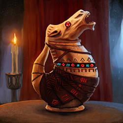 Potion of Zancor by pinkhavok