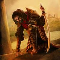 Sir Kael the Pious by pinkhavok