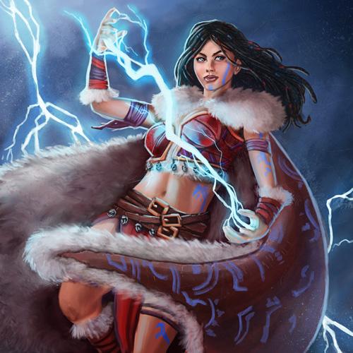 Stormrider Shaman by pinkhavok