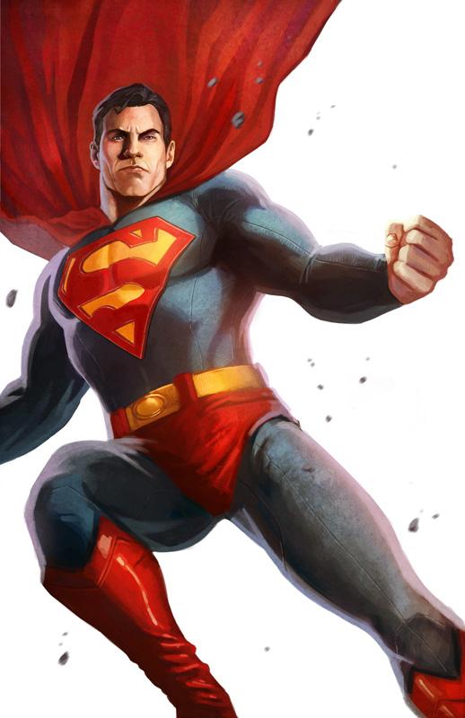 Superman: White Series by pinkhavok