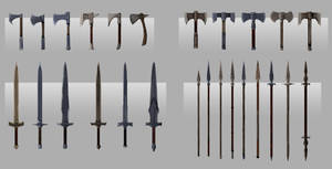 Tempest Master Weapons Concepts