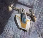 Star Wars: X-Wing Miniaures Game: Jon Vander