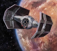 Star Wars: X-Wing Miniaures: Storm Squadron Pilot by pinkhavok