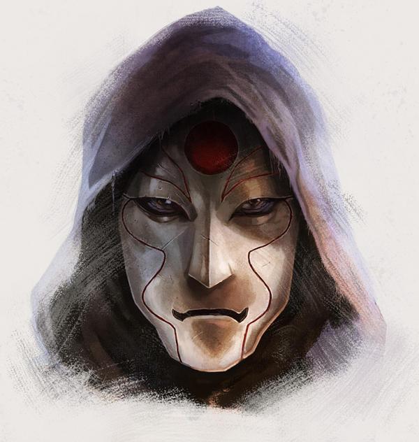 Legend of Korra: Amon by pinkhavok
