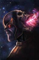 Thanos by pinkhavok