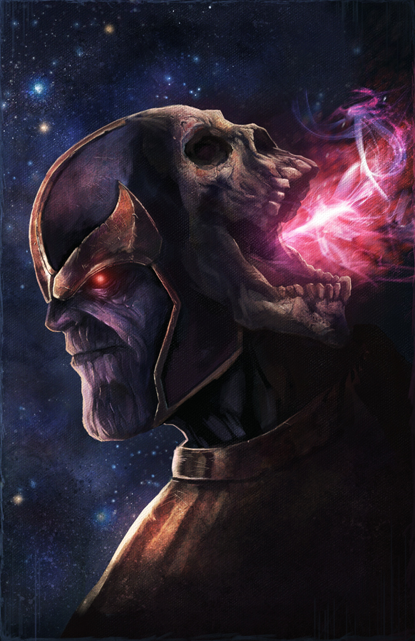 Thanos by pinkhavok