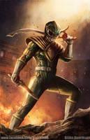 Green Ranger Concept Art by pinkhavok
