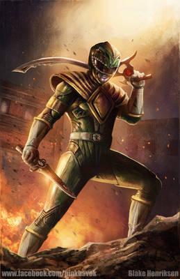 Green Ranger Concept Art