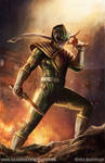 Green Ranger Concept Art