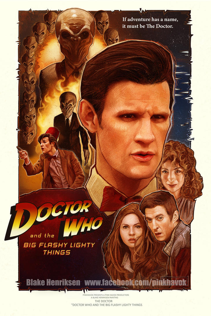 Doctor-Who-And-The-Big-Flashy-lighty-Things by pinkhavok