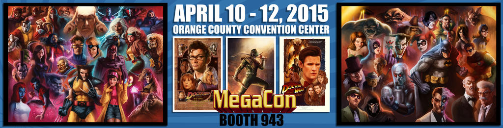 I'll be at MegaCon 2015 April 10th-12th! by pinkhavok