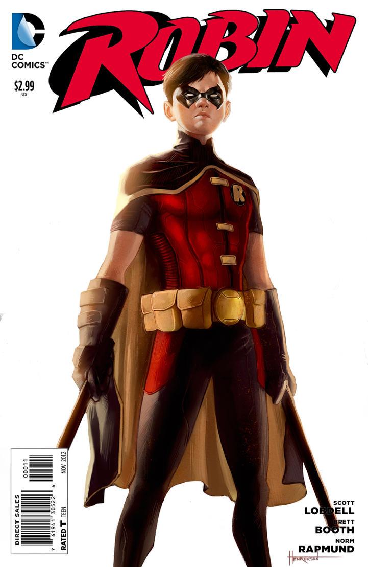 Robin Cover by pinkhavok