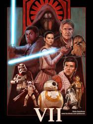 Star Wars Episode VII by pinkhavok