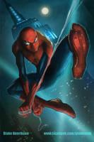 Spiderman by pinkhavok