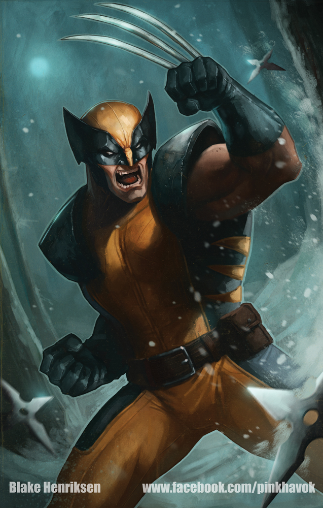 Wolverine by pinkhavok