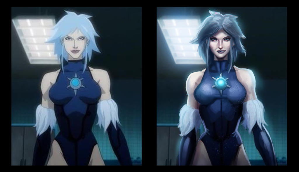killer frost side by side comparison by pinkhavok