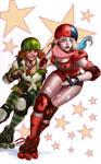 Roller Derby Harley and Ivy