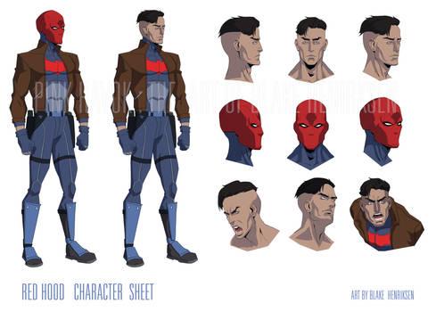 Red Hood Character Sheet