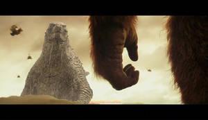 King vs. Kong by Pinkyycerebroful