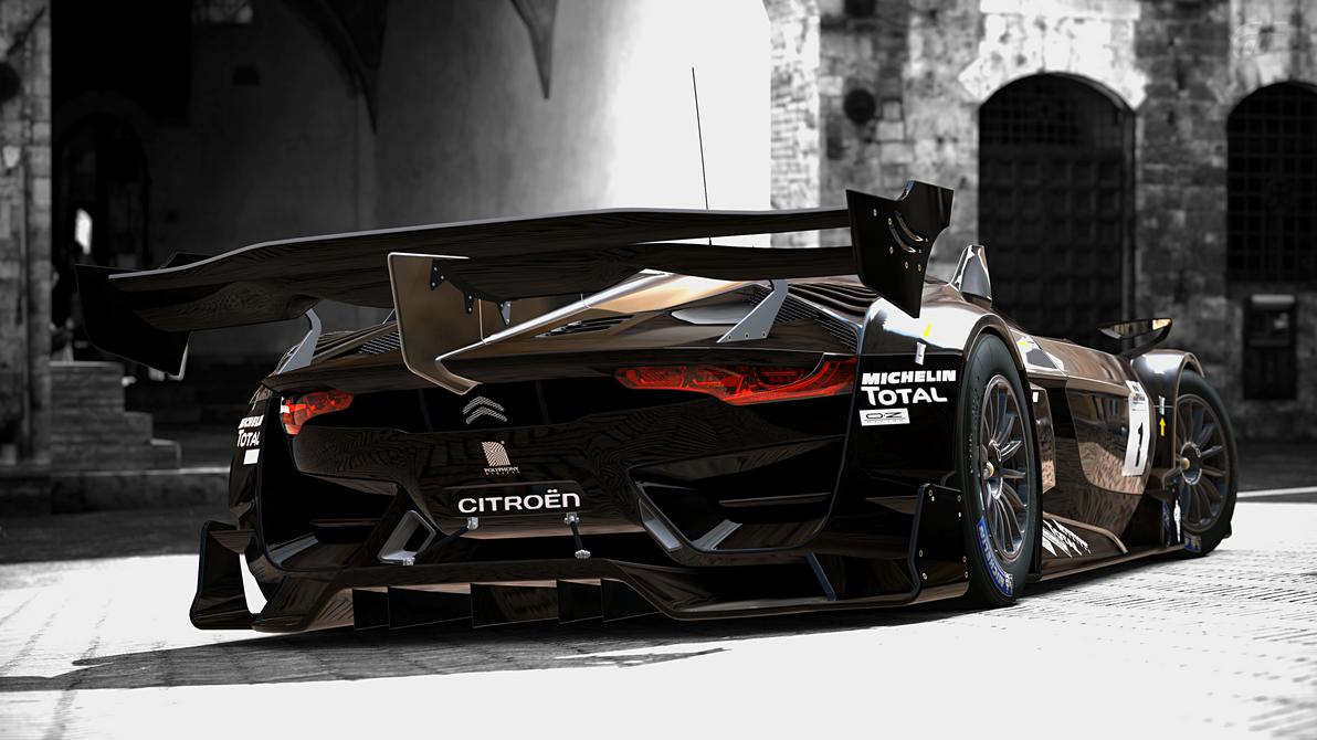 Citroen gt race car by strayshadows on deviantart for Garage citroen ermont