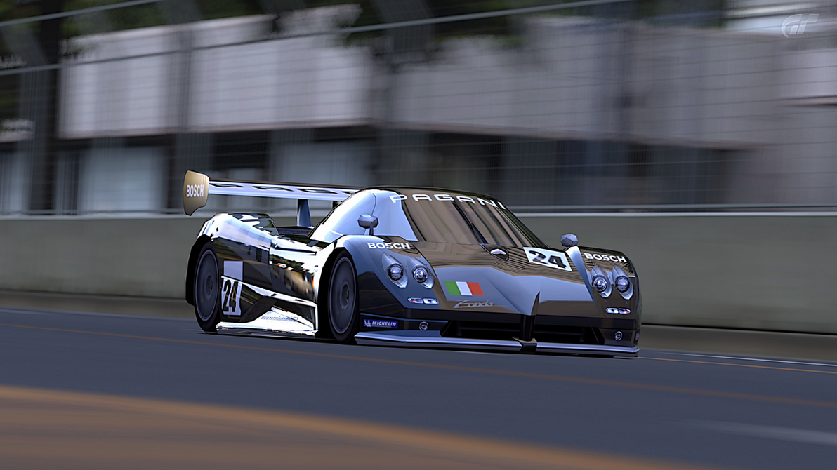 Pagani Zonda LM Race Car by StrayShadows on DeviantArt
