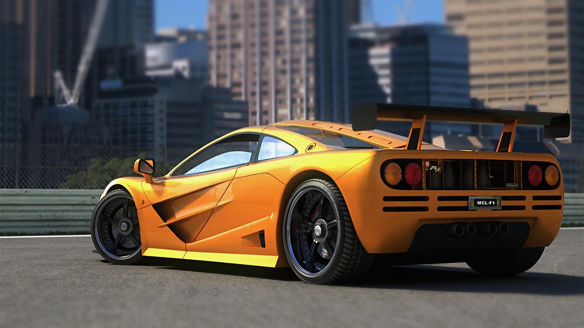 Mclaren F1 by StrayShadows