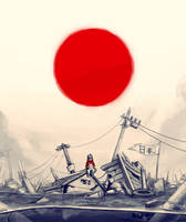 Red sun T_T by Pyroow