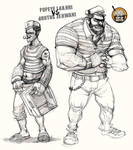 popeye and Brutus