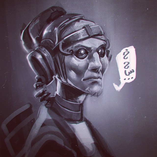 L'Hajja Cyborg by Pyroow