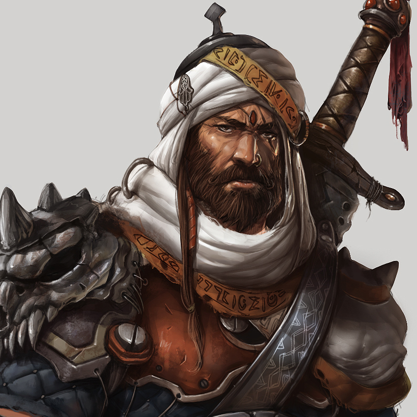 Arabian knight by Pyroow