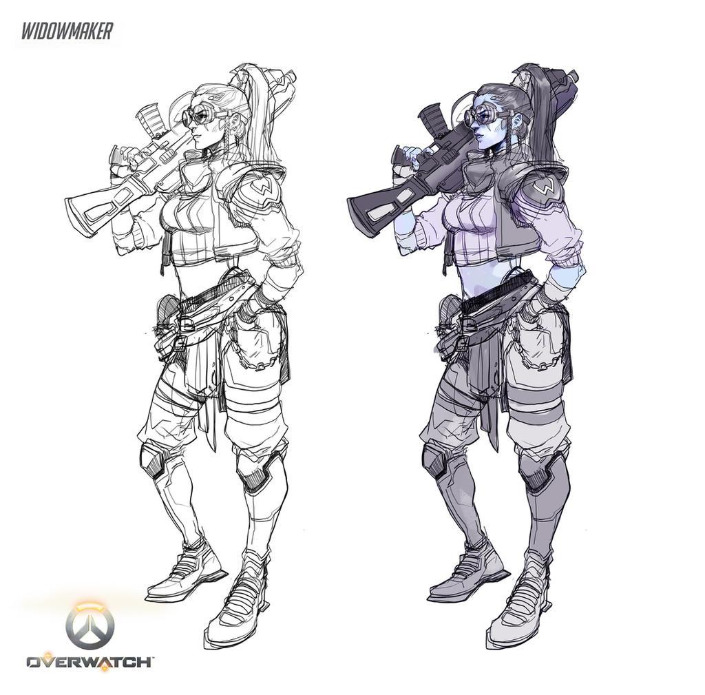 Widow Maker Skin by Pyroow