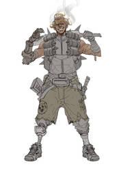 Junkrat Mcharmel Mad Max by Pyroow