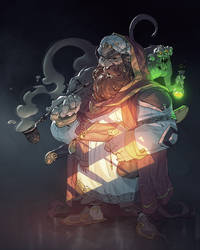 Alibaba The Arabian Wizard by Pyroow