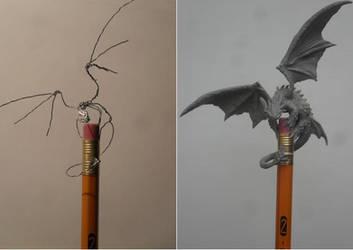 Mini Toothless HTTD by JOPUTAPELIRROJO