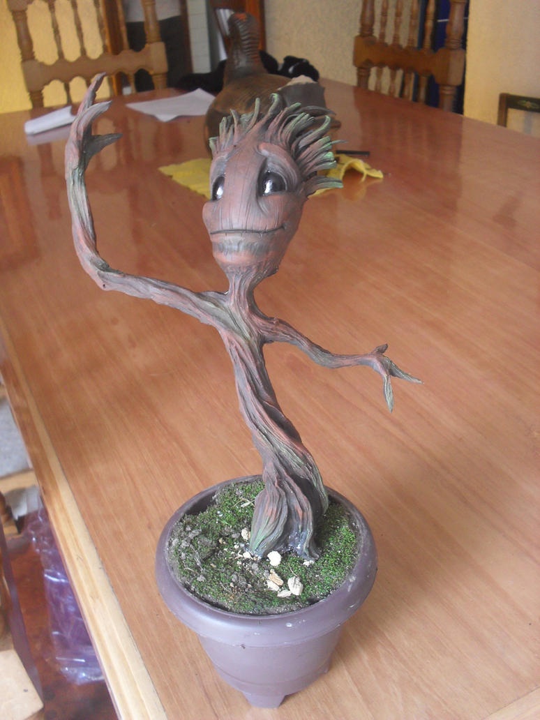 Baby Groot by JOPUTAPELIRROJO