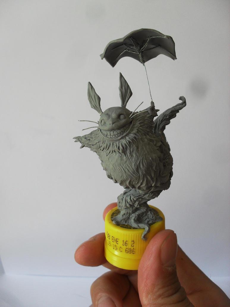 My tiny Neighbor Totoro by JOPUTAPELIRROJO
