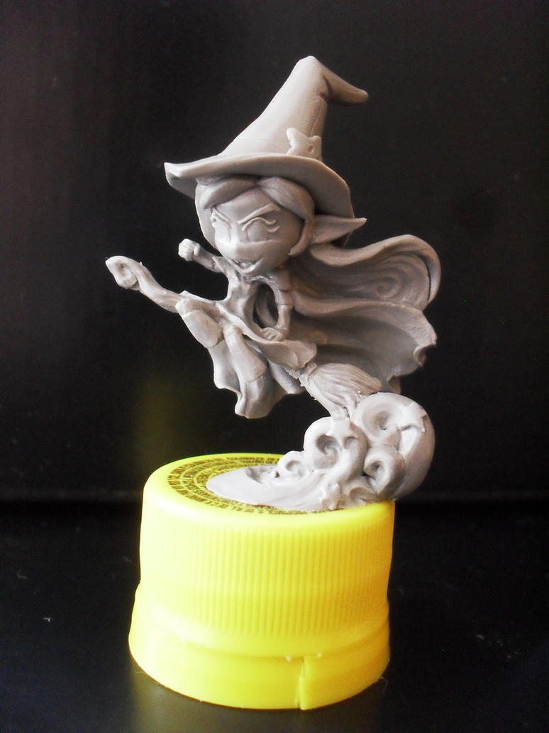Chibi wicked witch of the west by JOPUTAPELIRROJO