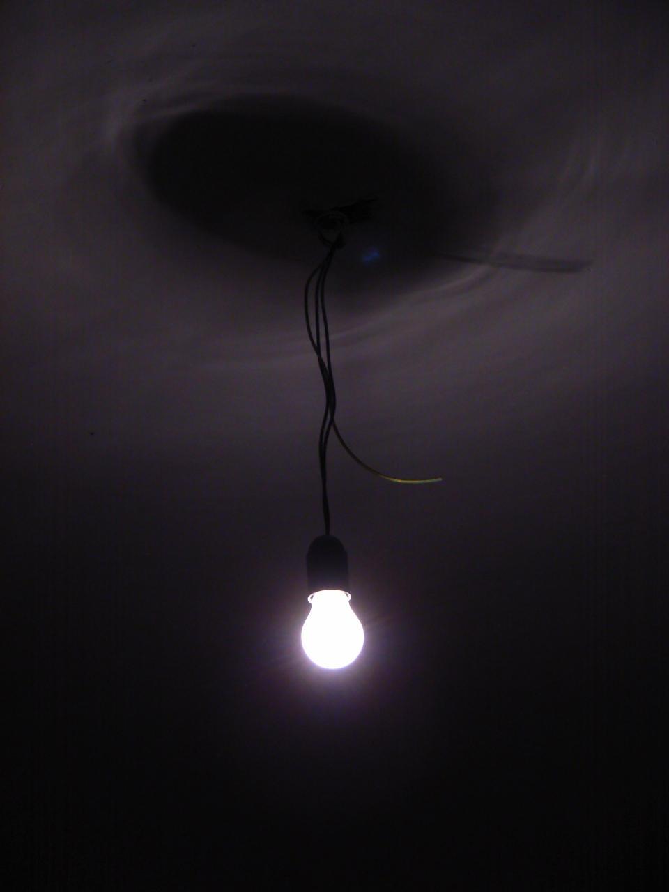 Dark room with light bulb - Light Bulb By D1s4st3r Light Bulb By D1s4st3r
