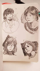 Faces 5/100 by sketching101