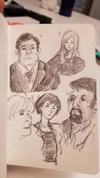 Faces 10/100 by sketching101