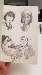 Faces 14/100 by sketching101