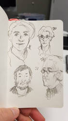 Faces 22/100 by sketching101