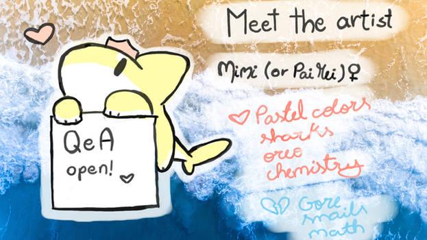 My new fursona (PaiMei) + Meet the artist!