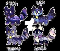 + Galactic kittens (3/4 OPEN) +