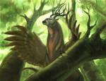 Forest Guardian Beast