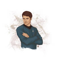 Leonard McCoy by Lenap