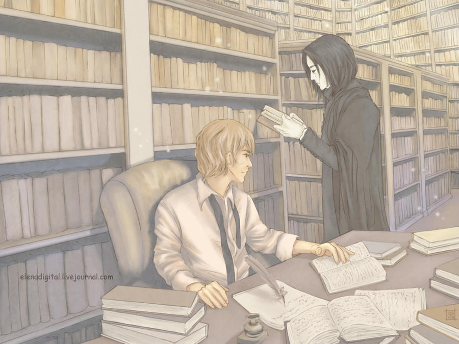 ullist. SnapeLupin by Lenap