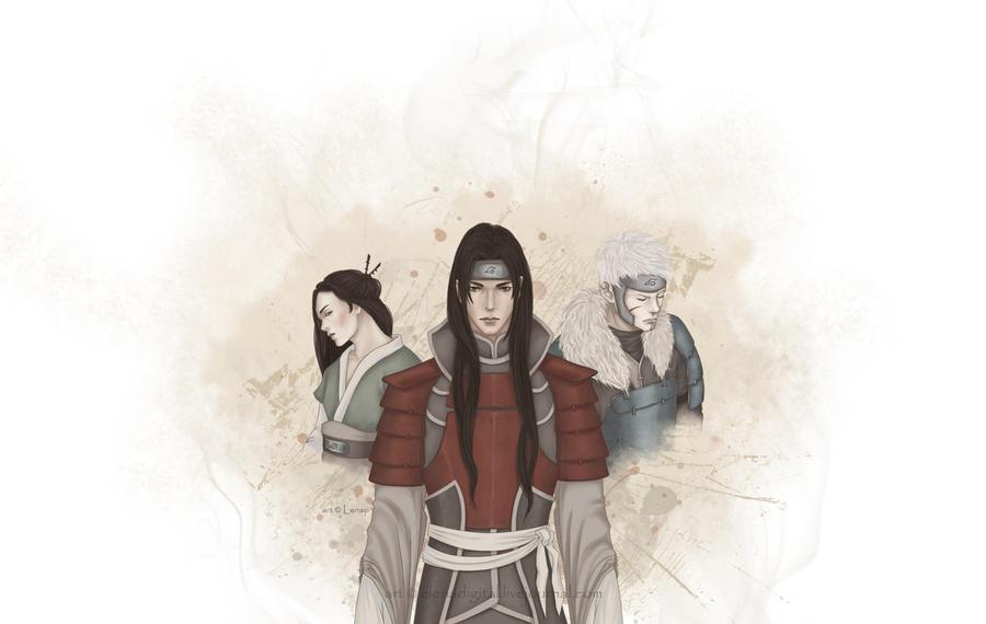 Senju family by Lenap