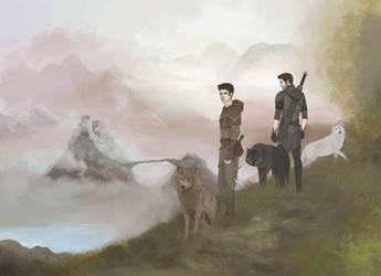 Sterek fantasy au by Lenap