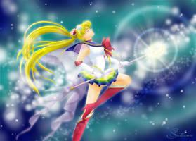Super Sailor Moon by SvetlankaArt